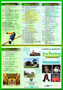 ECO FESTIVAL IRACOUBO