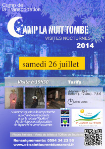 Camp la Nuit Tombe